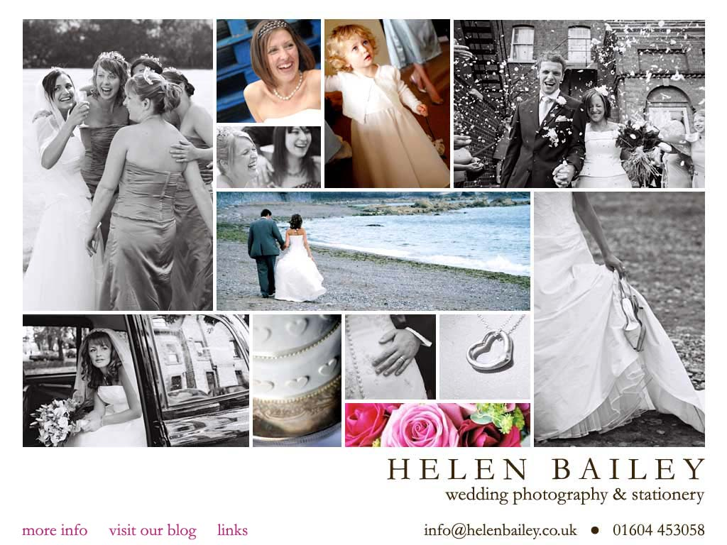 Helen Bailey Northampton Wedding Photography & Stationery